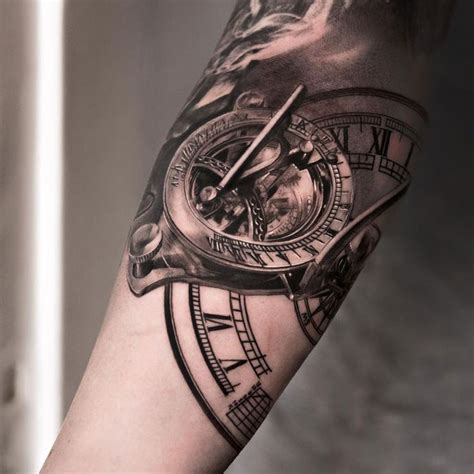 tattoo arm clock 95 best images about tattoo on pinterest time tattoos