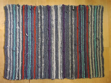 Recycled T Shirt Rug by Rugs From Recycled T Shirts The Chawed Rosin