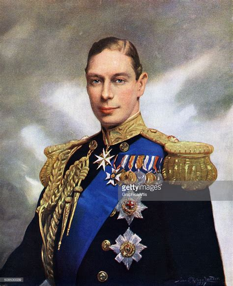 king george vi george vi of the united kingdom getty images