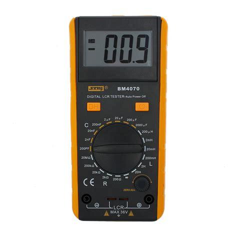 inductance testing meter szbj bm4070 lcr meter inductance capacitance resistance tester self discha g5e6 ebay