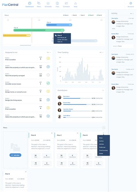 home improvement project management app the 25 best project management dashboard ideas on