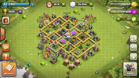 clash of clans th6 farming base quotes best th6 coc best apps for android chainimage