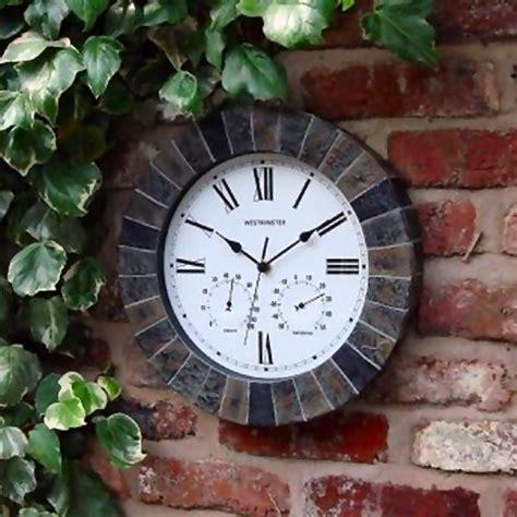 Garden Clock by Salisbury Outdoor Garden Clock
