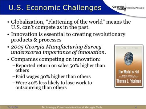 Mba In Technology Commercialization by Technology Commercialization At Tech