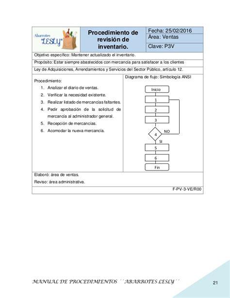 manual de procedimientos para adquisiciones manual de procedimientos