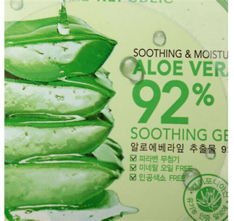 Nature Republic Aloe Vera Soothing Gel For Acne fd2685 nature republic soothing moisture aloe vera gel 92