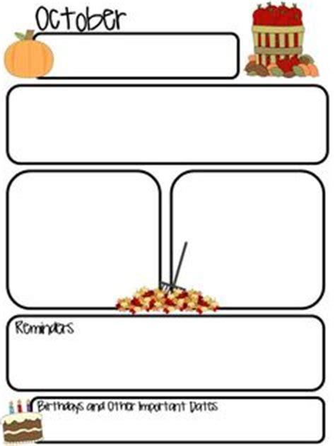 1000 Ideas About Newsletter Templates On Pinterest Preschool Newsletter Templates Preschool Free November Newsletter Templates