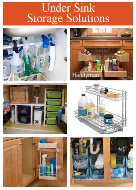 under the bathroom sink storage solutions diy home sweet home under sink storage solution