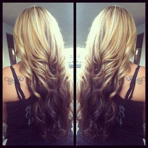 reverse ombrepics pin reverse ombre hair color tumblr on pinterest