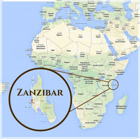 zanzibar map in zanzibar white beaches of tanzania safari explorer