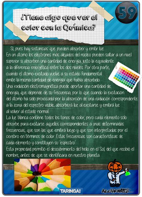 preguntas curiosas quimica qu 237 mica para taringueros 2 ciencia y educaci 243 n taringa