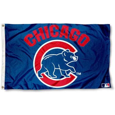 chicago cubs flags sports flags and pennants chicago cubs walking bear flag your chicago cubs walking