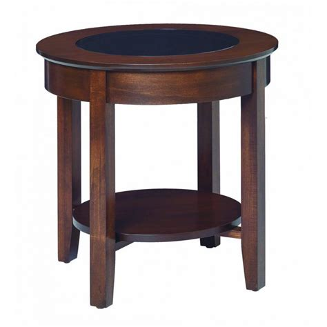Barn Style Dining Room Table aaron s glass top round end table amish crafted furniture