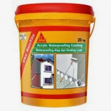 Sealer Pelapis Cat distributor dan toko bahan bangunan sika dari swiss produk sika termasuk pemimpin di waterproofing