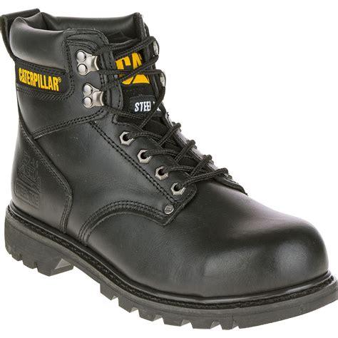 caterpillar second shift work boots cat footwear mens second shift steel toe work boot