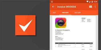 free invoice template for android best invoice app for android hardhost info