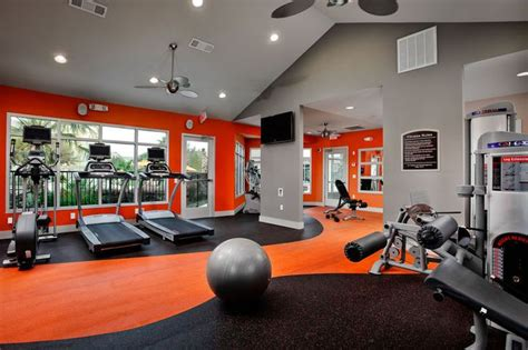 fitness room excellent home room decorating ideas well equipped home design ideas with orange theme