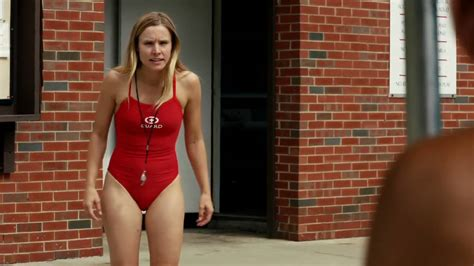 Kristen Bell Wears A by Kristen Bell Wearing A Swimsuit In The Lifeguard