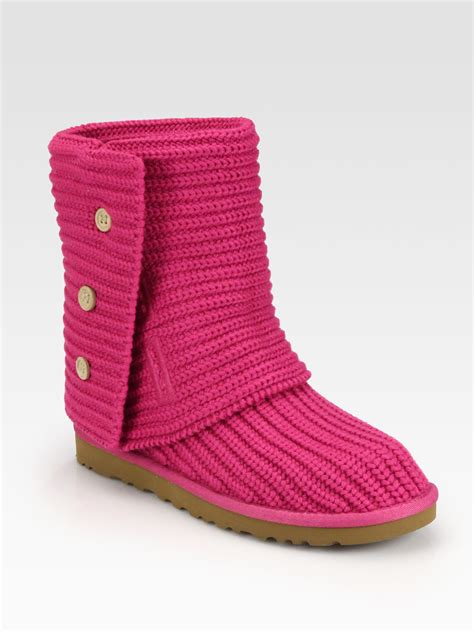 Ugg Classic Cardy Boots 5819 Pink Outlet Stores Ugg Classic Cardy Pink Boots