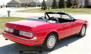 Cadillac Allente 1992 Cadillac Allante Convertible Sharp Excellent Look