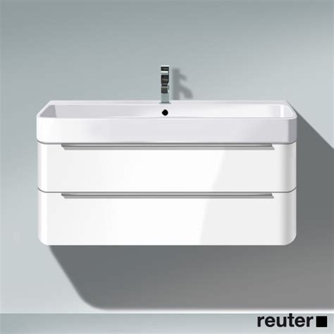 Duravit Wall Mounted Vanity by Duravit Happy D 2 Wall Mounted Vanity Unit D 48 Cm White