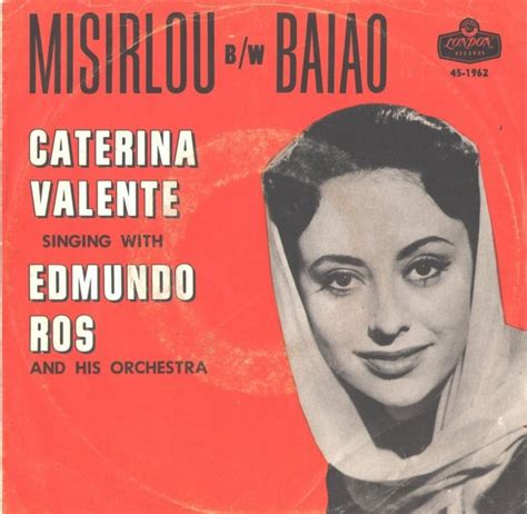 caterina valente caterina valente in london 45cat caterina valente and edmundo ros misirlou