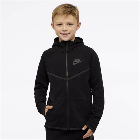 Hoodie Jdm Boy Clothing nike boys sportswear tech fleece windrunner hoodie black black anthracite 856191 010