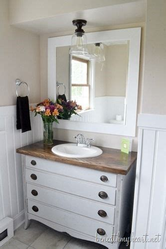 How To Turn A Dresser Into A Bathroom Vanity by 17 Best Ideas About Dresser Sink On Dresser