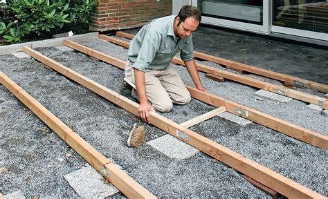 len selbst bauen terrassendielen verlegen holzterrasse bild 25 selbst de