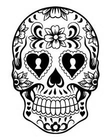 skulls to color sugar skull coloring page az coloring pages