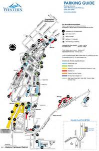 Western Washington University Map by Parking Services Map