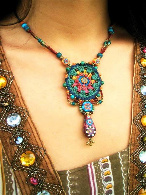 how to make crochet jewelry with 60 free vintage crochet jewelry ideas diy to make