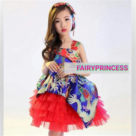 Dress Anak jual dress tutu cheongsam anak gaun pesta