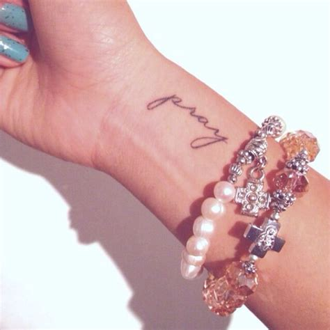 wrist pray faith rosary bracelet