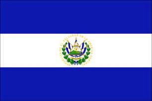 el salvador flag and its meaning paz amor el salvador