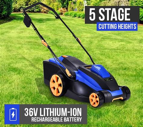 lightweight electric lawn mower new cordless electric lawn mower lightweight adjustable l