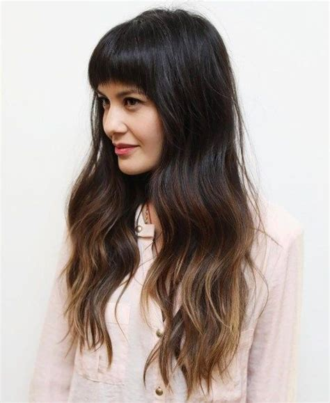 hairstyles long brunette layers 50 cute and effortless long layered haircuts with bangs