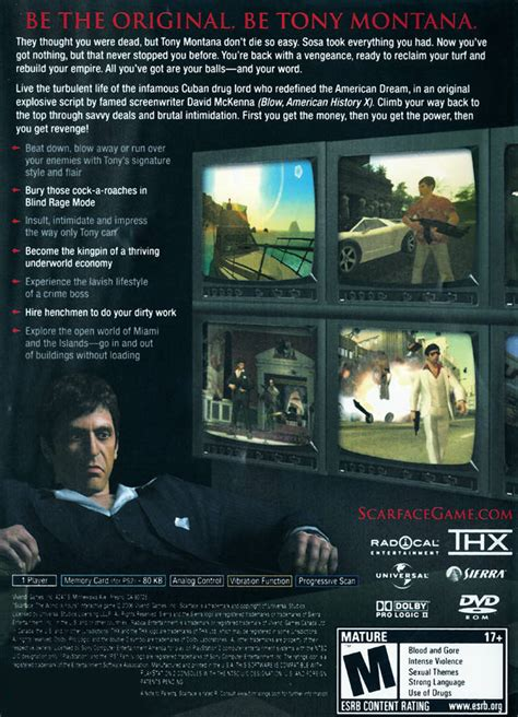 scarface the world is yours sony playstation 2