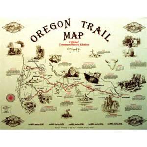 oregon trail map for pin by wendy mizerek on 5th grade social studies