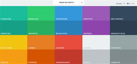 flat color it work flat design and color trends designmodo