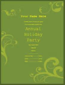 Free Invitation Templates For Word by Invitation Templates Free Printable Sle Ms Word
