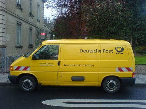 Auto Post by File Deutsche Post Ag Technischer Service Vw T 4
