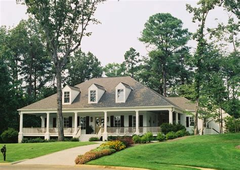 Low Country House Plans With Wrap Around Porch by Acadian Style Home With Wrap Around Porch In Alabama