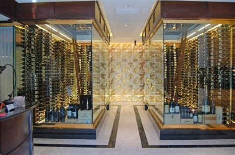wine cellars design lift your with exclusive wine cellar design for