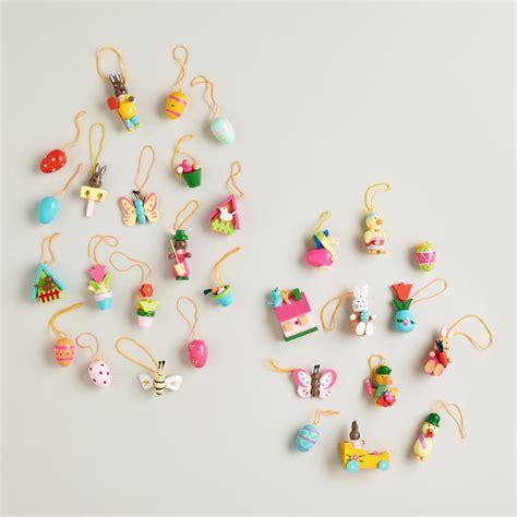 mini ornaments wooden miniature ornament