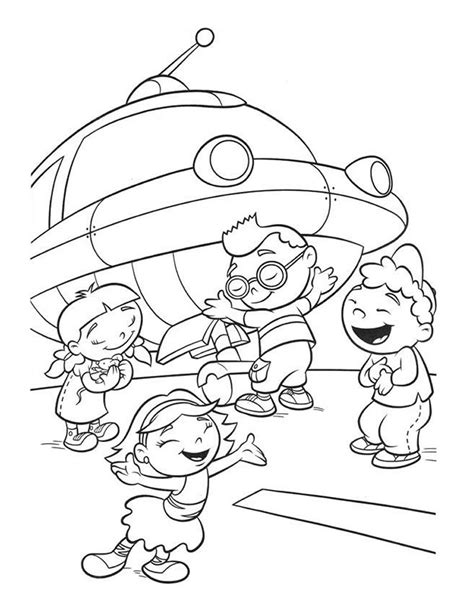 Free Printable Little Einsteins Coloring Pages Get Ready To Learn Colouring Book