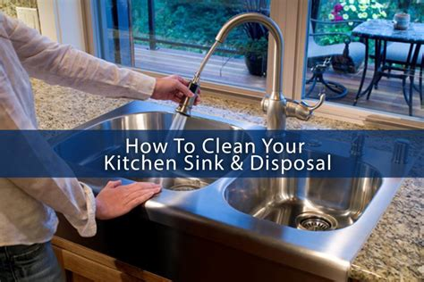 how to clean kitchen sink how to clean your kitchen sink disposal abm custom homes