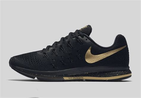 black and gold nike shoes nike running black and gold collection sneakernews