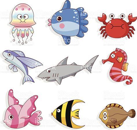 imagenes animales acuaticos icono de dibujos animados animales acu 225 ticos arte