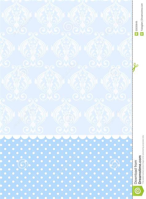 blue wallpaper stock vector illustration  retro flower
